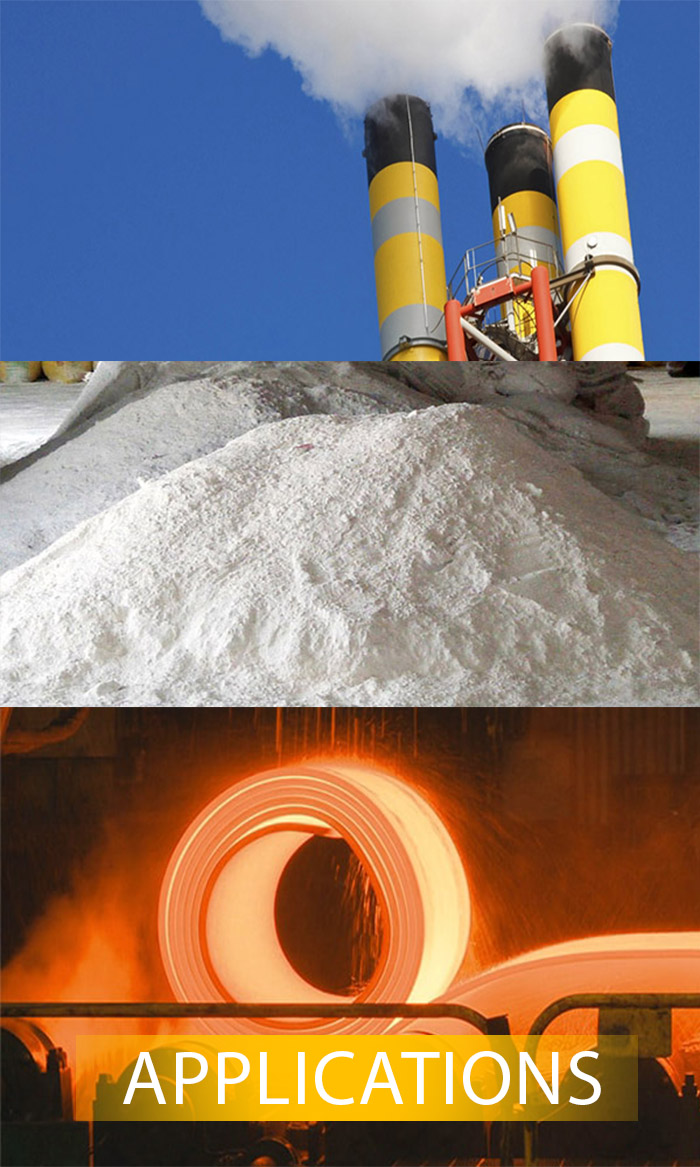 Raj Associates - Mining Of Limestone and Manufacturing of Lime - Applications